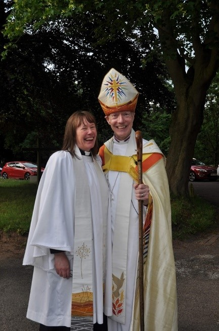 ORDAINED LOCAL MINISTER - REVEREND NICOLA BUSBY. Curate.