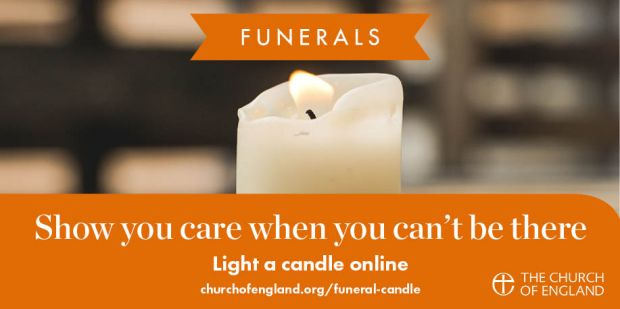Light a candle Twitter social graphic